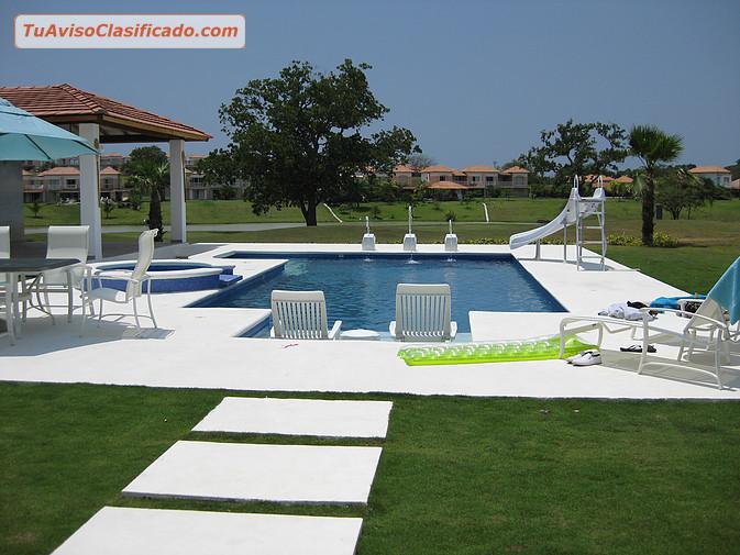Construcci n de piscinas jacuzzi fuentes y cascadas en panam y - Fuentes para piscinas ...