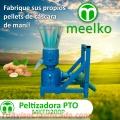 Meelko Peletizadora 200mm PTO para alfalfas y pasturas 150-250kg/h - MKFD200P