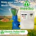 Maquina Meelko para pellets con madera 200 mm electrica 90-120 kg/h - MKFD200C