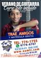 Gran Curso de guitarra  todo incluido este en uamti chiriqui Reserva al 6776-6707  774-175