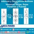 Adornos y Decorativos Multiuso ART26, ART27 y ART36