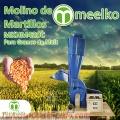 Molino de Martillos MKHM420C para Granos de Maíz