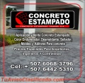 Pisos de Concreto Estampado Decorativo