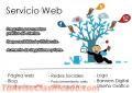 Servicios Digitales: Redes Sociales  Mercadeo Web  Blog  Páginas web.
